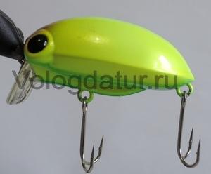 Воблер для голавля и язя Lacky Craft Gen Goal 45S Insect Yellow 879
