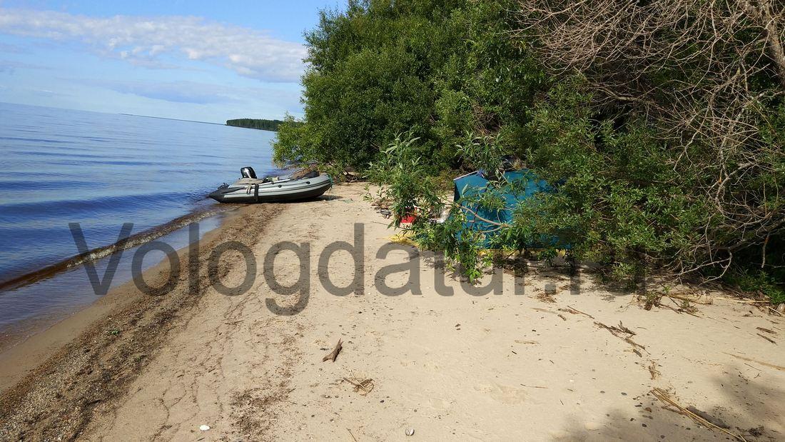 Отдых на озере Белое в Вологодской области